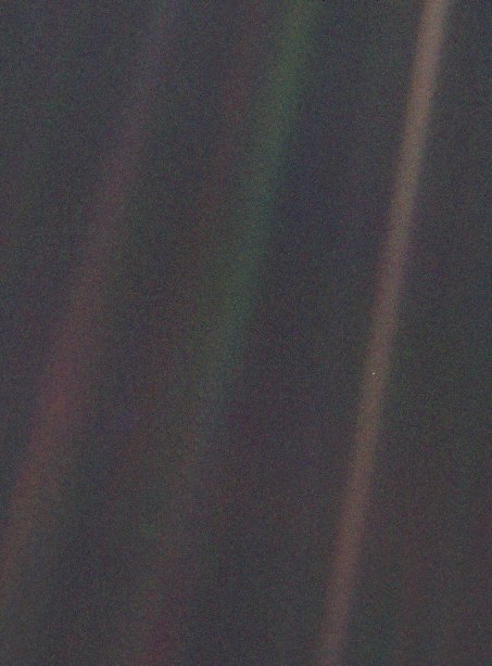 """Pale blue dot"""