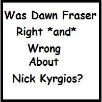 """Nick Kyrgios"" ""Gordon Bryan"""